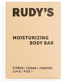 Rudy's Barbershop Citrus Moisturizing Body Bar