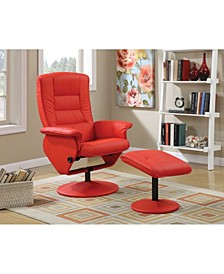 Arche 2-Piece Recliner Chair & Ottoman