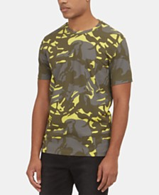 Kenneth Cole New York Men's Camouflage T-Shirt