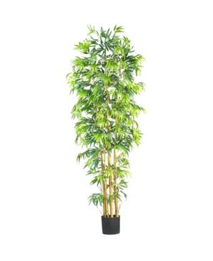 Nearly Natural 7' Bambusa Faux Silk Tree
