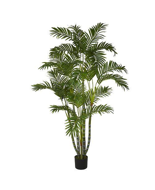 Nearly Natural 5' Areca Faux Silk Tree