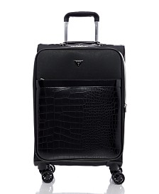 "GUESS Fashion Travel Zelzah 20"" Spinner Upright Luggage"