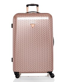 """GUESS Fashion Travel Burnley 28"""" Spinner Upright Hardside Luggage"""