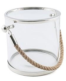 CLOSEOUT Glass ice Bucket