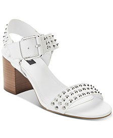 DKNY Sierra Studs Dress Sandals, Created for Macy's