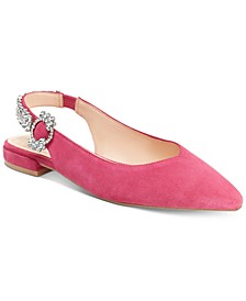 Nanette by Nanette Lepore Felicity Jewel Embellished Flats, Created for Macy's