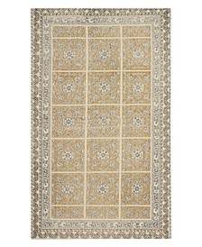 "Janis Stonewash Printed Cotton 30"" x 50"" Accent Rug"