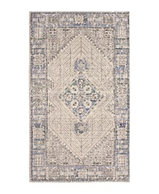 "Logan Colorwashed Kilim 27"" x 46"" Accent Rug"