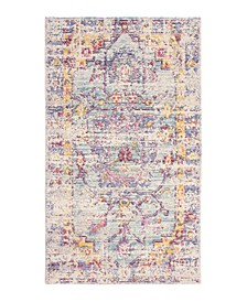 "Giselle Colorwashed Kilim 27"" x 46"" Accent Rug"