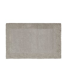 "Border Loop Cotton 17"" x 24"" Bath Rug"