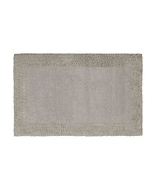 French Connection Border Loop Cotton Bath Rug Collection