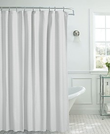 French Connection Percy Cotton Shower Curtain