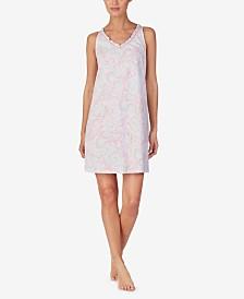Lauren Ralph Lauren Knit Cotton Nightgown