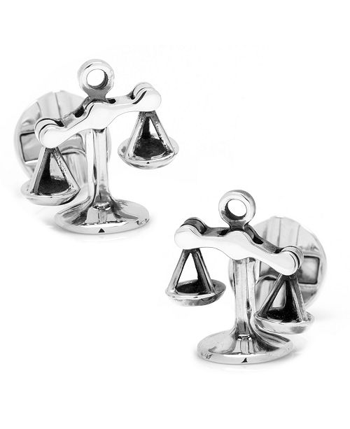 Cufflinks Inc. Moving Parts Scales of Justice Cufflinks