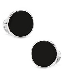 Sterling Classic Formal Onyx Cufflinks