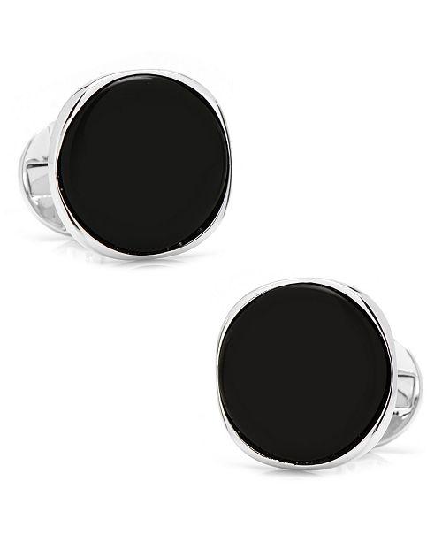 Cufflinks Inc. Sterling Classic Formal Onyx Cufflinks