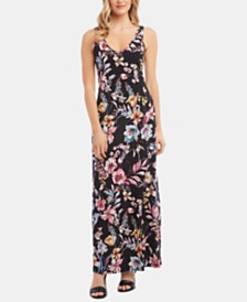Karen Kane Alana Floral-Print Maxi Dress, A Macy's Exclusive