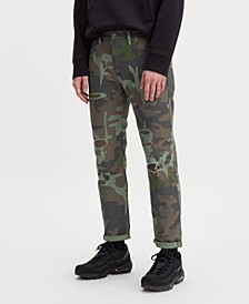 Men's Tapered Camo Hi Ball Roll Sneaker Jean