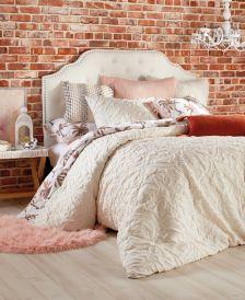 Home Vintage Tile Full/Queen Comforter Set