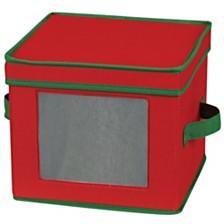 Household Essentials Holiday China Salad Plate Storage Box