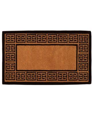 "The Grecian 18"" x 30"" Coir Doormat"