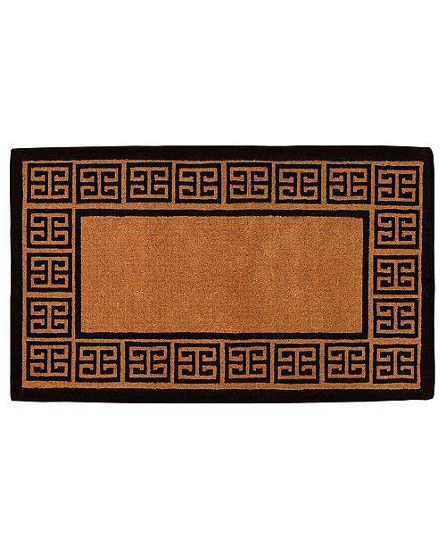 Home & More The Grecian Coir Doormat Collection