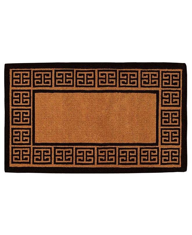 "Home & More The Grecian 18"" x 30"" Coir Doormat"