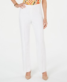 Kasper Petite Side-Zippered Pants