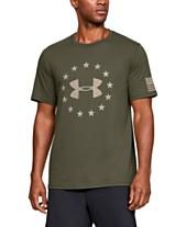 7dcb1ba89cf Under Armour Men s Freedom Logo T-Shirt