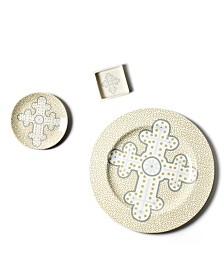by Laura Johnson Cobble Neutral Cross Collection