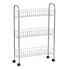 Slimline 3-Shelf Utility Cart
