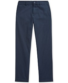Polo Ralph Lauren Big Boys Seersucker Skinny Pants