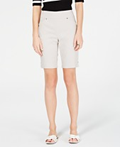 abe70664e6 I.N.C. Pull-On Bermuda Shorts, Created for Macy's