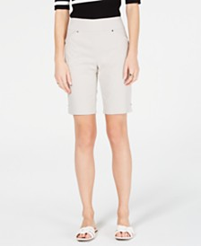 I.N.C. Pull-On Bermuda Shorts, Created for Macy's