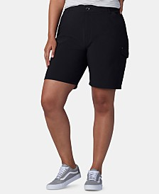 Lee Platinum Plus Size Flex To Go Bermuda Cargo Shorts