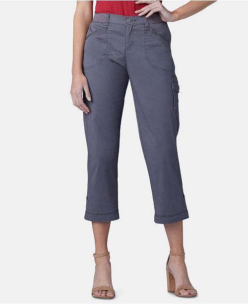 Lee Platinum Lee Flex To Go Cargo Capri Pants