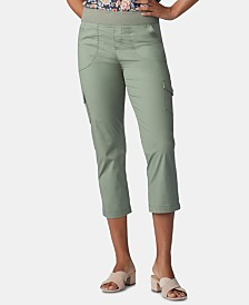 Lee Platinum Petite Pull-On Cargo Capri Pants