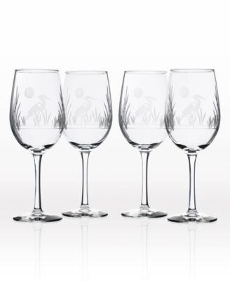 Heron All Purpose Wine Glass 18Oz - Set Of 4 Glasses