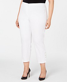Plus Size Hollywood-Waist Pants, Created for Macy's