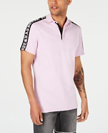 I.N.C. Men's Shoulder-Taped Polo, Created for Macy's