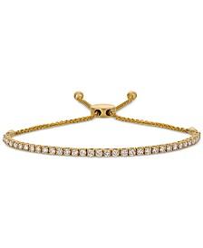 Le Vian® Nude Palette Nude Diamond Bolo Bracelet (1-1/2 ct. t.w.) in 14k Gold