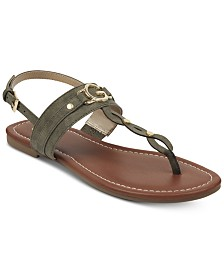 G by GUESS Links Flat Sandals
