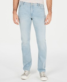 American Rag Men's Pearl Wash Straight Fit Jeans, Created for Macy's