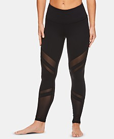 Gaiam X Jessica Biel Melrose Mesh-Trimmed Leggings