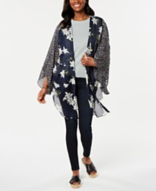 Cejon Love For Lily Multi-Print Kimono
