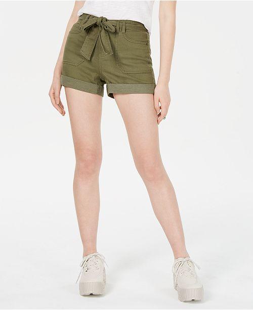 Vanilla Star Juniors' Belted Utility Shorts