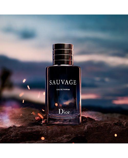c431ed378b Dior Men's Sauvage Eau de Parfum Spray, 3.4-oz. & Reviews - All ...