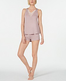 Sol Camisole and Tap Pants Knit Pajama Set