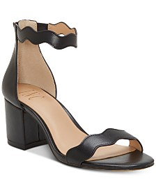 I.N.C. Women's Hadwin Scallop Two-Piece Sandals, Created for Macy's