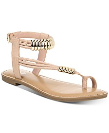 Bar III Vella Flat Sandals, Created for Macy's